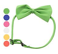 Schleifen Halsband für Hunde und Katzen (verschiedene Farben)