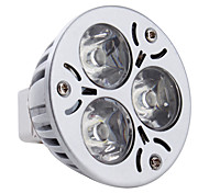 Focos MR16 GU5.3 3 W 3 LED de Alta Potencia 270 LM Blanco Natural DC 12 V