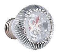Лампа с белым светом, 85-265, E27 3x1W 3-LED 270lm 6000K