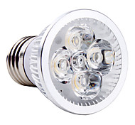 E26/E27 4W 4 High Power LED 360 LM Natural White MR16 LED Spotlight AC 85-265 V