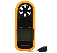 """Smart-Sensor 1.5"""" LCD Digital Wind Speed Anemoscope + Wind Chill Thermometer"""