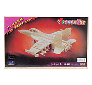 Wooden 3D Hornet Bomber Puzzle Toy