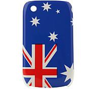 Bandera de Australia patrón de estuche protector para blackberry 8520 y 8530