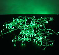 10m de 100 led verte 8 modes étincelles noël chaîne de fées lampe (220v)