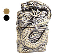 Oil Lighter Covered with Dragon Pattern (Assorted Colors)