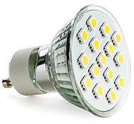 Spot Lampen MR16 GU10 2.5 W 200 LM 2800K K 15 SMD 5050 Warmes Weiß AC 220-240 V