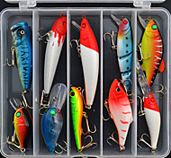 cebos para la pesca señuelo duro conjunto (10 piezas)