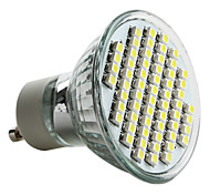 4W GU10 Spot LED MR16 60 SMD 3528 180 lm Blanc Naturel AC 100-240 V