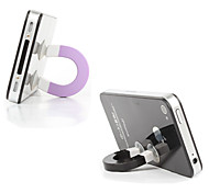 Magnet Shaped Stand for iPhone & Other Cell Phone (Random Color)