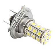 H4 5050 SMD 27-LED 1.44W 260MA White Light Bulb for Car (DC 12V)