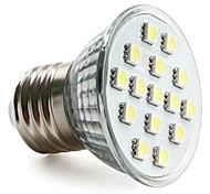 Spot Lampen PAR E26/E27 2.5 W 200 LM 6000K K 15 SMD 5050 Natürliches Weiß AC 220-240 V