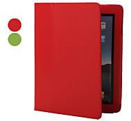 pu Ledertasche & Ständer für iPad 2/3/4 (farblich sortiert)