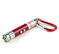 2-Mode 3-LED Flashlight Set (3xLR41, Assorted Colors)