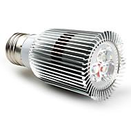 Focos MR16 E26/E27 9 W 3 LED Dip 600 LM 2800K K Blanco Cálido AC 85-265 V
