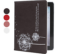 Stylish Dandelion Pattern PU Leather Case with Stand for iPad 2/3/4 (Assorted Colors)