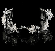 Handmade Flying Butterfly Wedding Bridal Headpiece