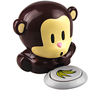 Monkey Style Wind Automatic Pressure Activates Nail Dryer(Powered by 2 AAA Battery)