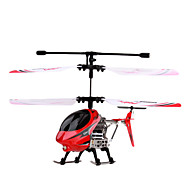Palm Size Infrared Remote Control Helicopter with Gyro (Red)