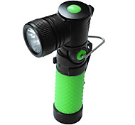 LED Flashlights / Handheld Flashlights LED 3 Mode 220 Lumens Anglehead / Rechargeable / Tactical / Self-Defense Cree XR-E Q5 AA Others ,