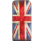 millésime uk flag motif de style simili cuir corps de boîtier complet pour sumsing i9000 (multi-couleur)