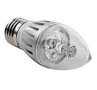 Lâmpada Vela Decorativa E26/E27 W 270 LM 3000K K Branco Natural 3 LED de Alta Potência AC 85-265 V C