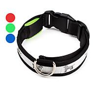 cucciolo di modello di stile collare di cane principale registrabile (40-50cm/15.7-19.7inch, colori assortiti)
