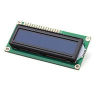 Bricolaje Electrónica (para arduino) módulo del lcd 1602, blanco sobre azul con luz de fondo