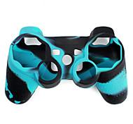 Capa Protetora Bicolor de Silicone para Controle PS3