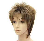 Capless High Quality Syntheitc Brown Short Straight Wig