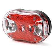 3-LED 7-Mode Red & White Light Safty Warning Bicycle Tail Lamp