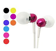 kanen classique stéréo intra-auriculaire écouteur avec micro pour iPhone (coloris assortis)