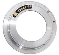 AF confirman m42 lente para Canon 40D 30D 450D 500D 5D + tapa