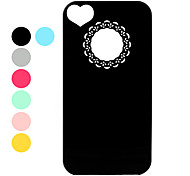 Ultra Slim Lightweight Unique Protective Back Case for iPhone 4 and 4S (Assorted Colors)