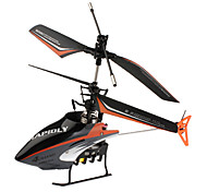 301C F-serie 4-kanaals mini-afstandsbediening helikopter (zwart)