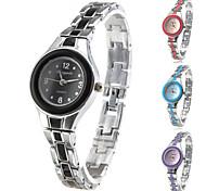 Women's Fashionable Style Alloy Analog Quartz Bracelet Watch (Multi-Colored) Cool Watches Unique Watches