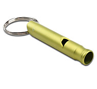 Concise Key Chain Survival Whistle (Yellow)