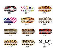 Tier Korn 14 Tipps Nail Art Sticker