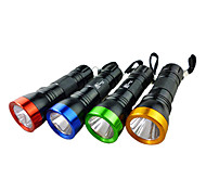 LED Flashlights / Handheld Flashlights LED 1 Mode Lumens Others AA Others , Multi-Colored Aluminum alloy