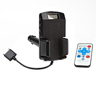 7 em 1 kit transmissor fm para iphone ipod série 2 3g 4g 3gs