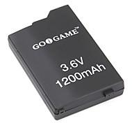 pacote de substituição de baterias para psp (3.6v, 1200mAh)