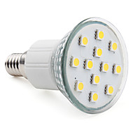 3W E14 LED-spotlampen MR16 12 SMD 5050 150 lm Warm wit AC 220-240 V