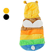 Dog Hoodie / Clothes/Clothing Black / Yellow Spring/Fall Animal Cosplay