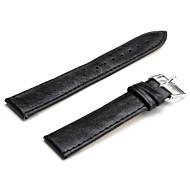 Unisex PU Leather Watch Strap 20MM(Black)