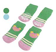 cher petit ours antidérapantes chaussettes pour les chiens (sl, couleurs assorties)