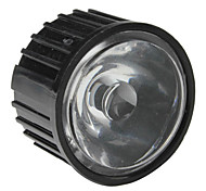 20mm 25° Optical Glass Lens with Frame for Flashlight, Spot Light