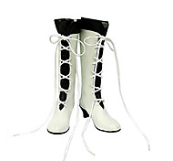 Cosplay Shoes Inspired by Pandora Hearts Alice White Lace-up