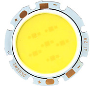 DIY 3W 250-280LM 6000-6500K White Light COB LED Emitter (9-11V)