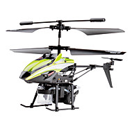 V757 3-Channel Gyro Remote Control Helicopter with Soap Ball Gun
