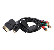 4-in-1 Component Cable for PS2, PS3, Xbox 360 and Wii