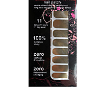 Full Cover Classical Golden Nail Stickers